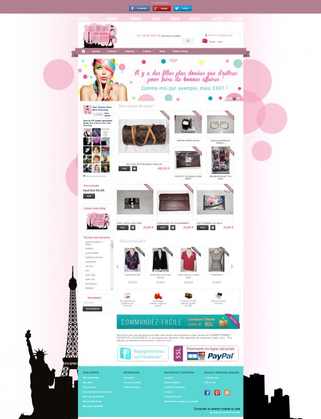 Sites de vente en ligne archives studioxine for Mon dressing en ligne